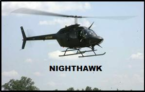 A nighthawk helicopter