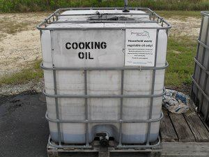 Cooking Oil Container